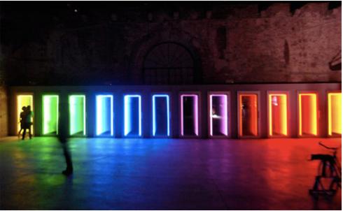 Treshold de Iván Navarro. 53a Bienal de Venecia